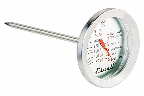 Escali AH1 Listed Thermometer Silver product image
