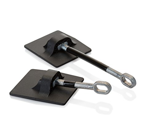 Refrigerator Door Lock WITHOUT PADLOCK - Black