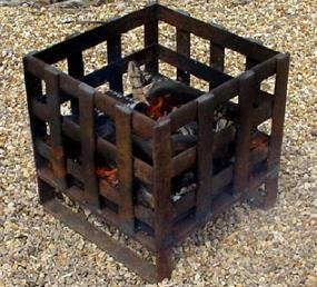 Tripod iron fire pit garden outdoors for Amazon prime fire pit