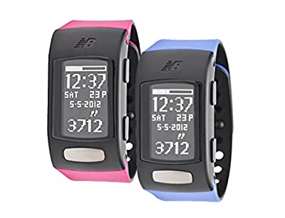 "New Balance Sports Calorie/Pedometer Monitors Life TRNr ""His & Hers"" Combo Pack (Berry + Blue)"