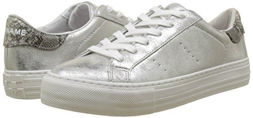 Glow Donna Basse Grigio Noname Arcade Sneaker silver wqaEWW6pn