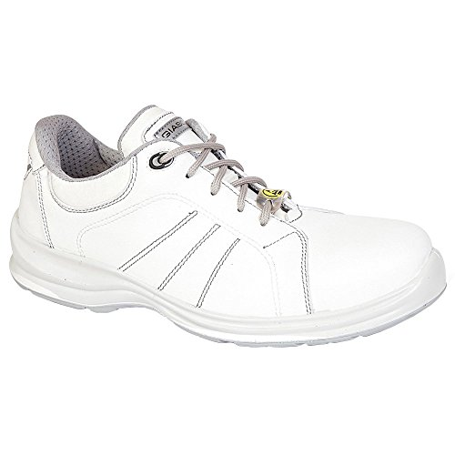 XL - Zapatillas de sintético para niño, color blanco, talla 13 UK