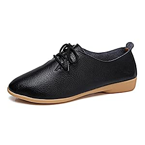 VenusCelia Women's Sung Oxford Flats Shoe