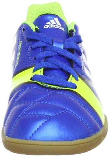 adidas Performance nitrocharge 3.0 IN J - Zapatos de fútbol de material sintético niño azul - Blau (BLUE BEAUTY F10 / RUNNING WHITE FTW / ELECTRICITY)