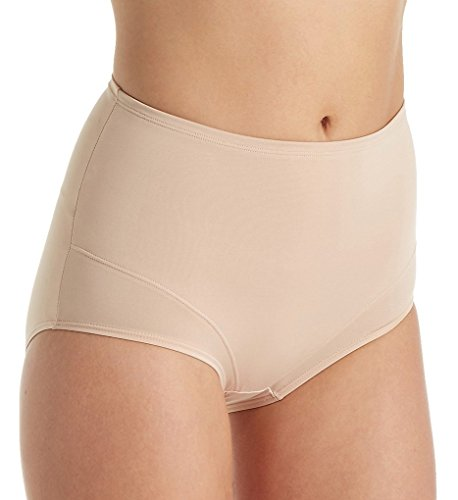 TC Fine Intimates Everyday Waistline Shaping Brief, L, Nude