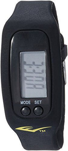 Everlast Automatic Plastic and Rubber Fitness Watch, Color:Black (Model: EVWTR025BK)