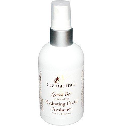 Bee Naturals, Queen Bee, Hydrating Facial Freshener, Alcohol-Free, 4 fl oz by Bee - Freshener Hydrating