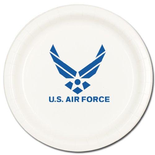 AIR FORCE DESSERT PLATE (8/PKG)