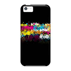 Perfect Circle Foam Case Cover Skin For Iphone 5c Phone Case