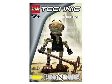 Lego Technic Bionicle - Lego Technic Bionicle #8542 Onewa