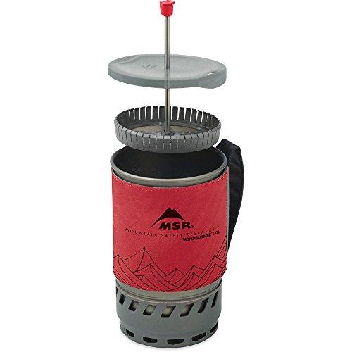 MSR WindBurner Coffee Press Kit, 1.0-Liter