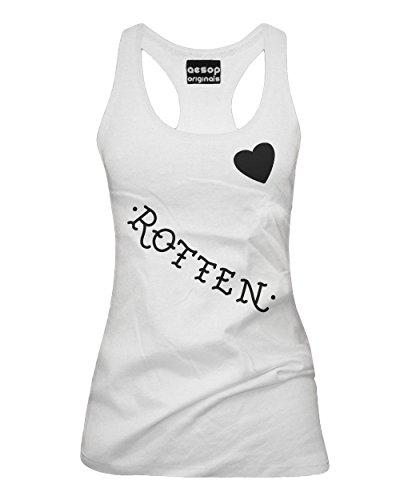 Aesop Originals Women's Harley Quinn's Rotten Tank (White)