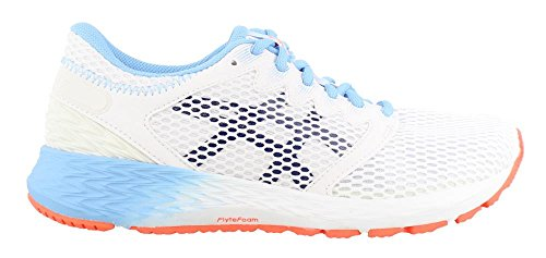 White Ff black 2 Asics1012a123 Roadhawk Donna wCwY84