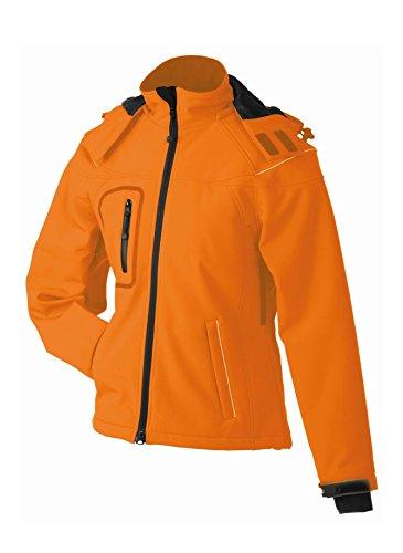 Chaqueta de invierno en softshell Chaqueta hiver softshell Mujer Orange