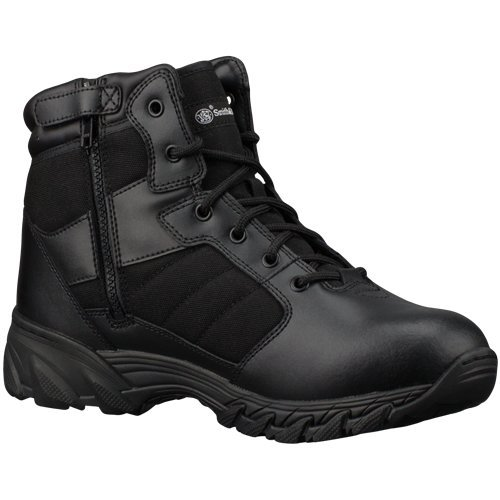 Smith & Wesson Breach 2.0 Men's Tactical Side-Zip Boots (10, 6