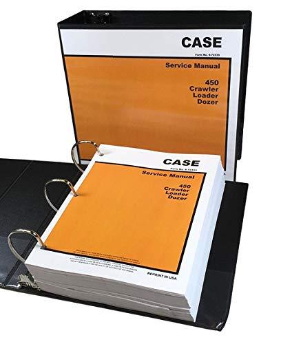 Case 450 Crawler Bulldozer Loader Dozer Service Repair Manual Shop Book 898Pgs!!