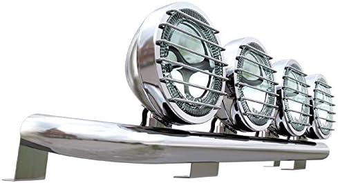 Universeller LKW Lampenbügel aus Edelstahl für Flachdach.