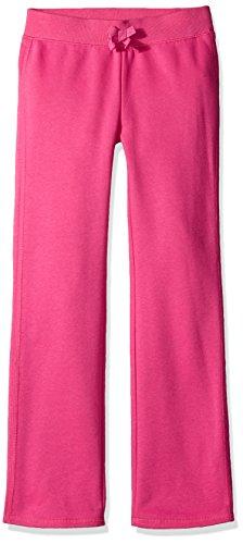 French Toast Little Girls' Fleece Pant, Rose Violet, 5