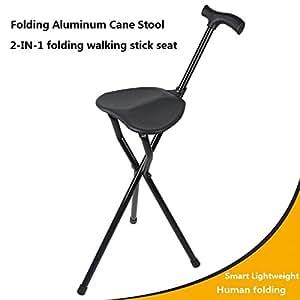 Amazon Com Cane Seat Massage Cane Chair Folding Seat