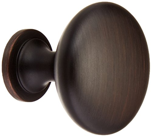 Amerock BP53005-ORB Allison Oil Rubbed Bronze Round Cabinet Knob, 15 ()