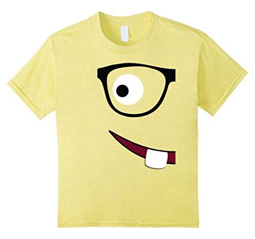 Kids Nerd Couple Halloween Costume T-Shirt 8 (Emoticon Halloween)