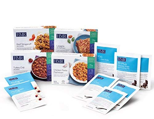 - HMR Quick Control Kit - 12 Meals (6 Shakes, 2 Cereal, 4 Entrees)
