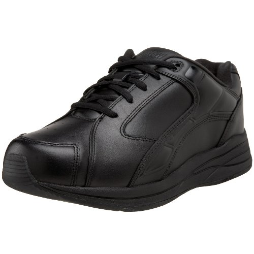 Drew Shoe Men's Force Athletic Walking Shoe,Black,13 4E US