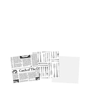 """Utopía presentación documentos, ct80060000, cubiertos de papel 6""""(15cm) (caja de 1)"""