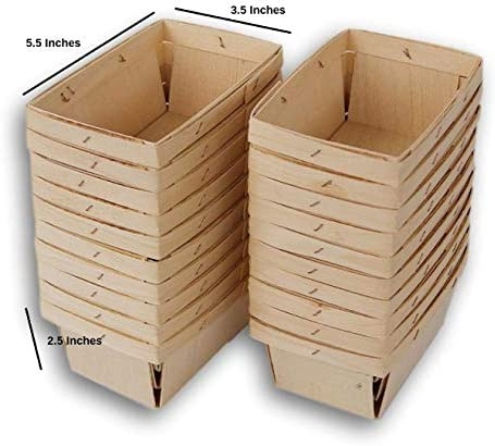 Jumping Daisy Rectangular Vented Baskets product image