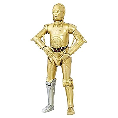 Star Wars The Black Series 40th Anniversary C-3PO, 6-inch: Toys & Games