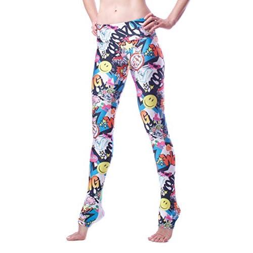 bf0c1aca Emily Hsu Designs Women's Bang Bang Graffiti Legging outlet - url ...