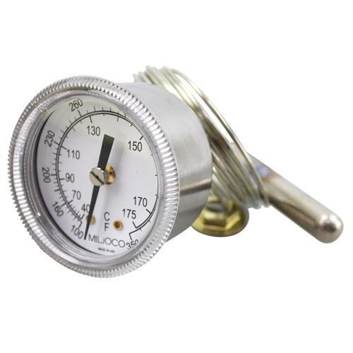 Alto Shaam Gu-33384 Thermometer 2.25' Dia Temp 100-350F Cap 70 U-Clamp Alto-Shaam Oven Warmer 621047