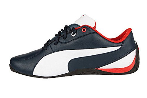 Puma Drift Cat 5 BMW L Mens Sneakers (7.5 D(M) US, Blue/White/Ribbon Red)
