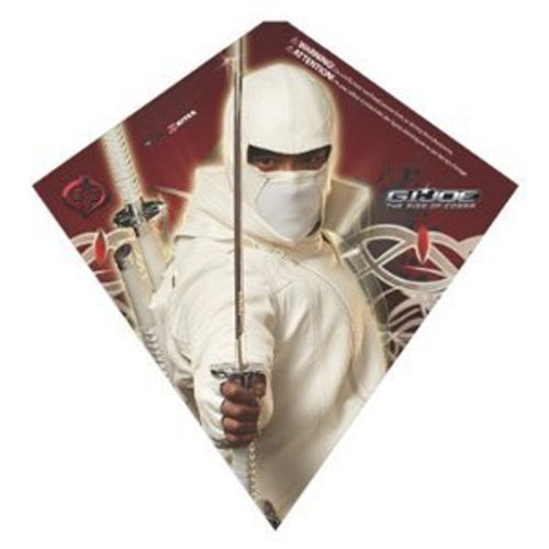 G.I Joe Rise of Cobra Storm Shadow Childrens SkyDiamond Kite (23 Inch)