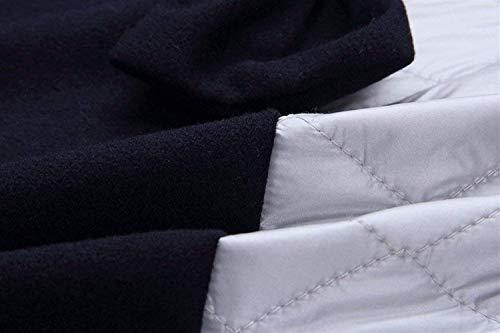 Felpa Donna Size Felpe color Dunkel Speciale A Autunno Blau Con Stile E Cappuccio Donne Fuwux Stampa Top Casual S Inverno Sciolto Moda Giacca Maniche Blau qTfqdw
