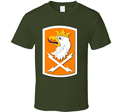 3XLARGE - Army - 22nd Signal Bde Wo Txt T-shirt - Military Green ()