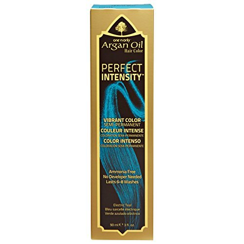 One 'n Only Perfect Intensity Electric Teal Semi Permanent Hair Color Electric Teal