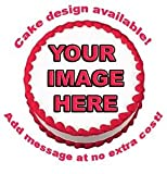 Create Your Own Custom Edible Cake Image Topper 7.5'' Photo Cake Frosting Icing Topper Sheet Personalized Custom Customized Birthday Party …