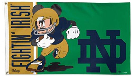 WinCraft Notre Dame Fighting Irish Disney Deluxe Flag 3x5 fo