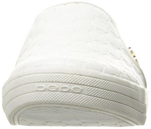 Bebe Womens Nev Fashion Sneaker Bianco
