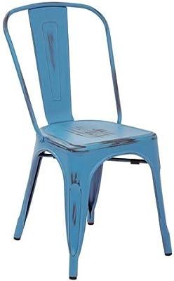 Work Smart/OSP Designs BRW29A2-ARB-osp Bristow Armless Chair (2 Pack), Antique Royal Blue
