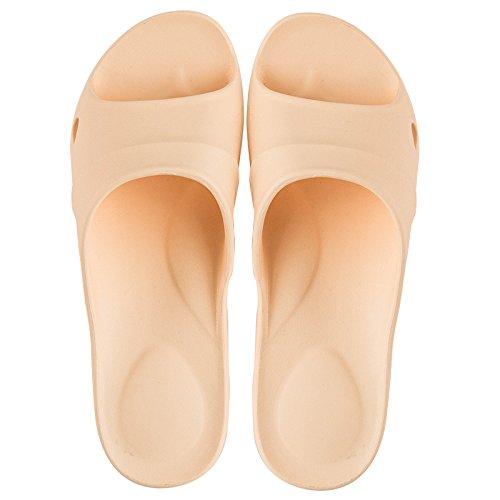 femmina fresco in fankou 39 40 Stare interni sandali domestici estate uomini pantofole morbida vi antiscivolo chiaro estate coppie giallo bagni a5wwnYqErS