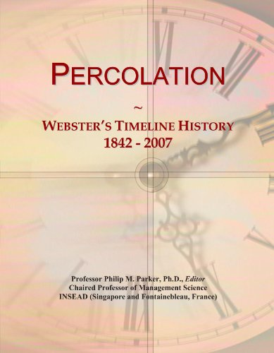 percolation of time - 2