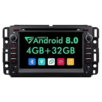 eonon 2019 double din car stereo,7 inch in dash android 8 0 car radio,