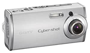 Sony Cybershot DSCL1 4MP Digital Camera with 3x Optical Zoom (Silver)