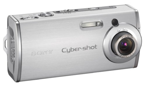 Sony Cybershot DSCL1 4MP Digital Camera with 3x Optical Zoom