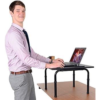 Adjustable height standing desk. Convert your desk to a standing desk