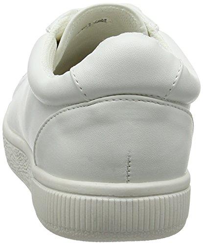 New Look Merry, Zapatillas Bajas Mujer Blanco (Blanco)