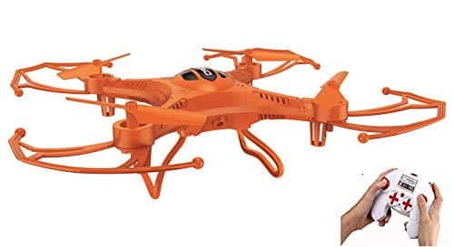 Tony and friends Toys Mini 3.7v 250mAh RC Quadcopter Drone - Drones for Kids, Teens, and Adults - Battery Operated Remote Controlled Flying Small Drone with Propellers & Lights - Great For Beginners