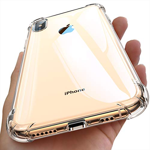 - Ainope Case Compatible iPhone Xs Max Case Clear, iPhone X Max Case Clear with 4 Corners Protection, Protective Cover with Soft Scratch-Resistant TPU Compatible iPhone Xs Max 6.5 inch 2018